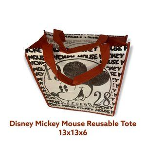 😁 4 / $20 NEW WITH TAGS Disney Mickey Mouse Reusable Tote - TYN8